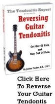Reversing Guitar Tendonitis ebook cover