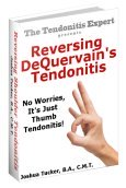 Reversing  DeQuervains Tendonitis ebook cover