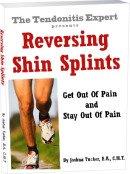 reversing shin splints tendonitis ebook cover graphic