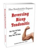 Reversing Bicep Tendonitis ebook cover