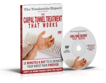 Carpal Tunnel Treatment That Works DVD cover cover