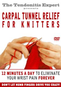 carpal tunnel relief for knitters cover picture