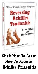 Reversing Achilles Tendonitis ebook cover