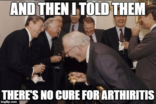 The arthritis medication scam