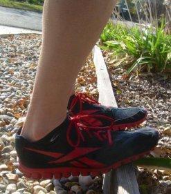 eccentric heel drop finish position picture