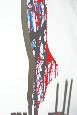 Inside Floxin Damaged Foot Art