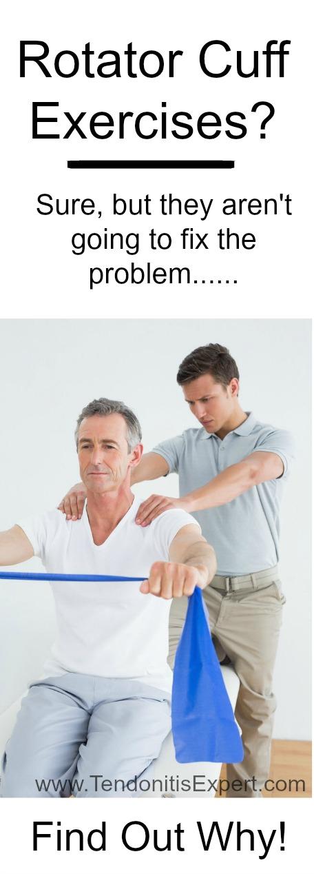 rotator cuff exercises picture