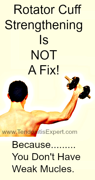 Rotator Cuff Strengtening Doesn't Work