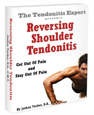 Reversing Shoulder Tendonitis ebook cover
