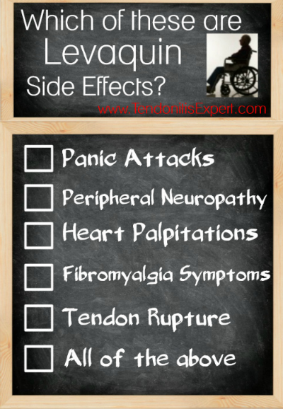 which of these are levaquin side effects?