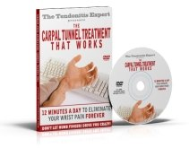 Carpal Tunnel Treatment That Works Dvd cover