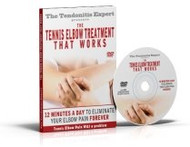 Tennis Elbow Treatment That Works Dvd cover