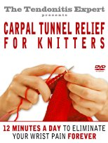 Carpal Tunnel Relief for Knitters DVD cover