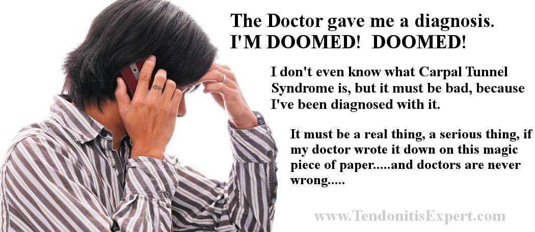 carpal tunnel diagnosis humor
